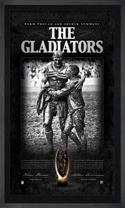 The Gladiators Norm Provan And Arthur Summons Signed And